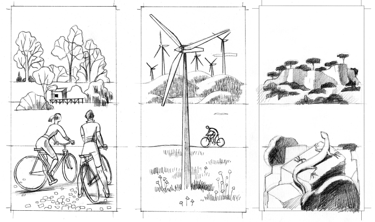 bici molinos